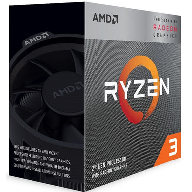 AMD Ryzen 3 3200G with Radeon Vega 8 Graphics CPUs Processors Discount Computer Needs