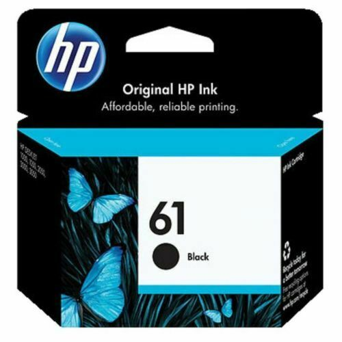 HP 61 Black Ink Cartridge CH561WA For DESKJET 3050 1500 1510 1010 ENVY 4500 5530