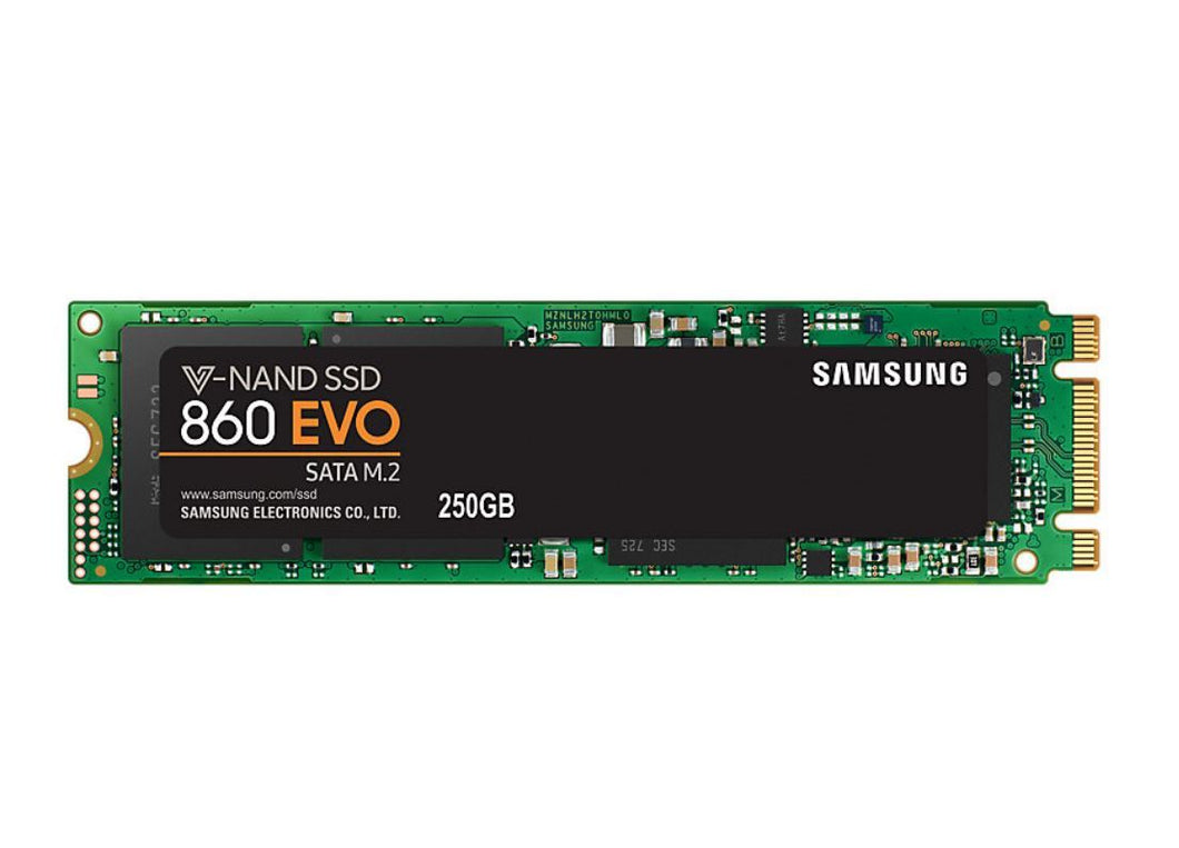 Samsung 860 EVO 250GB M.2 2280 SSD Solid State Drives Discount Computer Needs