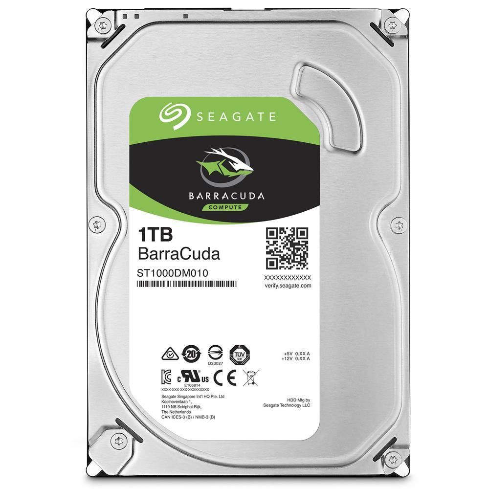 Seagate 1TB Barracuda 3.5 inch SATA HDD Internal Hard Disk Drives Discount Computer Needs