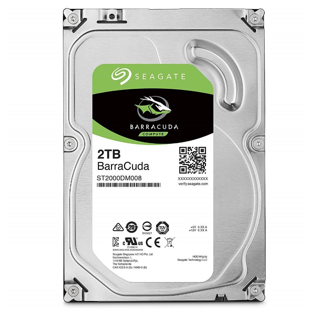 Seagate 2TB Barracuda 3.5 inch SATA HDD Internal Hard Disk Drives Discount Computer Needs