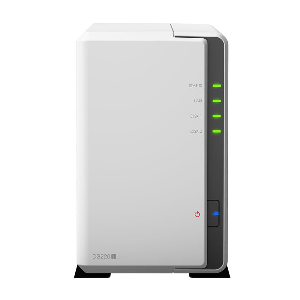 Synology DS220J Diskstation 2 Bay NAS Network Attached Storage Discount Computer Needs