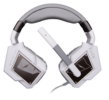 Tesoro Kuven 7.1 Gaming Headset White Headsets Discount Computer Needs