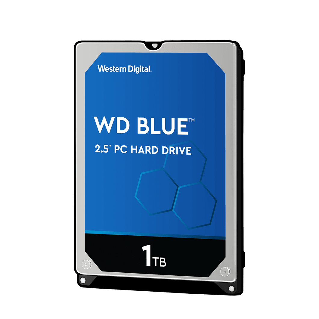 WD Blue 1TB 2.5 inch 7mm HDD Internal Hard Disk Drives Discount Computer Needs