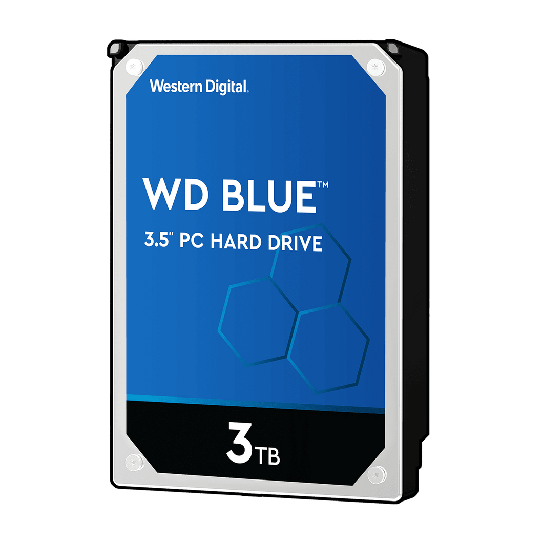 WD Blue 3TB 3.5 inch SATA HDD Internal Hard Disk Drives Discount Computer Needs