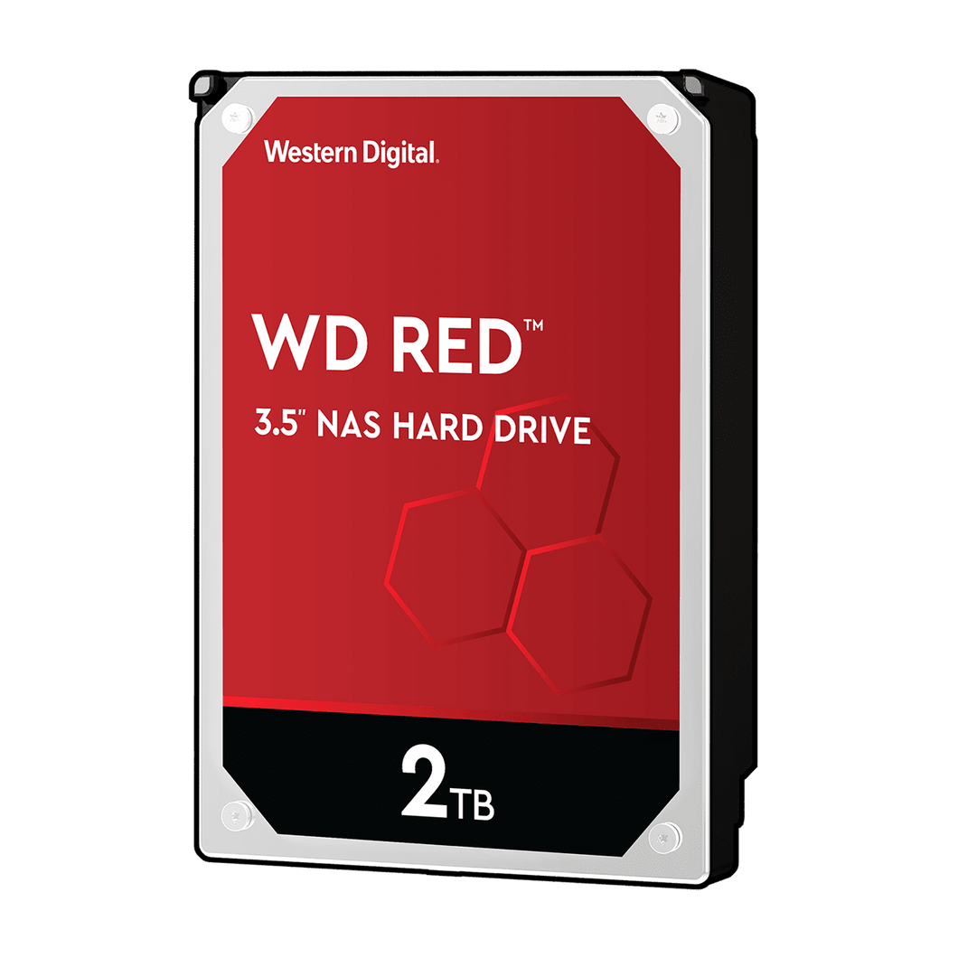 WD Red 2TB NAS 3.5 inch SATA HDD Internal Hard Disk Drives Discount Computer Needs