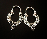 JOURNEY HOOPS: sterling silver earrings - Sembilan jewelry