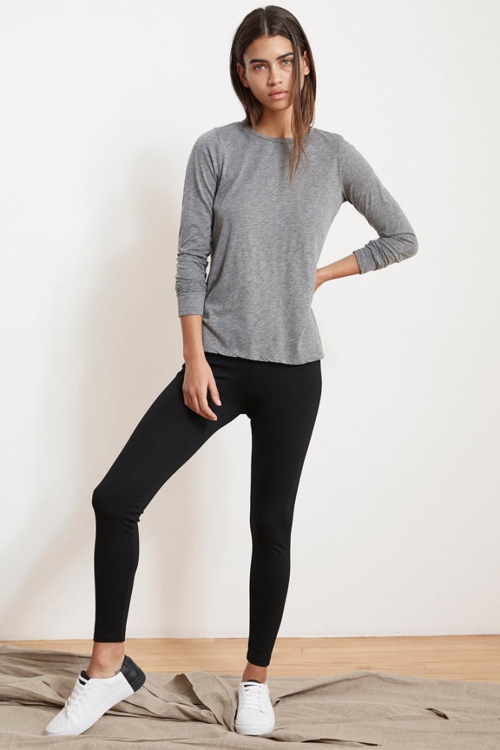 Velvet Jillette Ponti Legging in Black