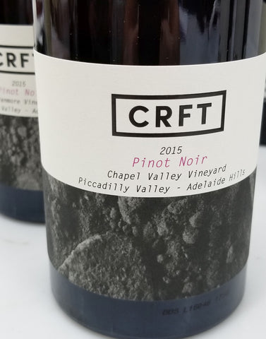 CRFT Chapel Valley 2015 Pinot Noir