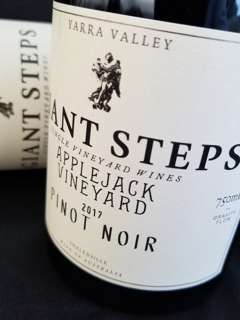 Giant Steps 2017 Applejack Pinot Noir