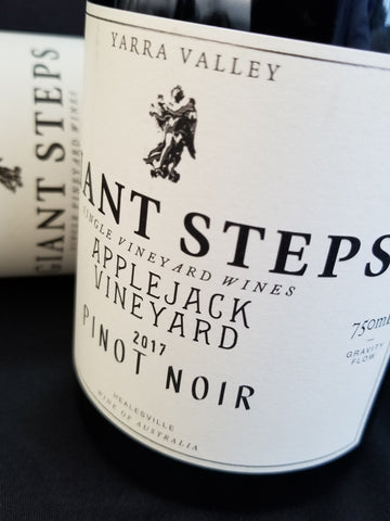 Giant Steps 2018 Applejack Pinot Noir