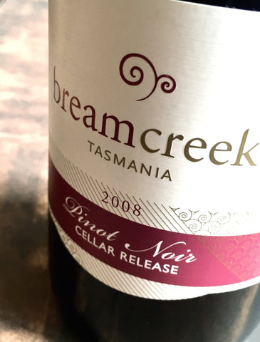 Bream Creek Cellar Release 2008 Pinot Noir