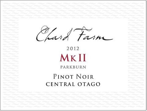 Chard Farm 2012 Mark II Pinot Noir