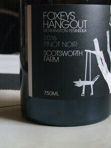 Foxeys Hangout 2016 Scotsworth Pinot Noir