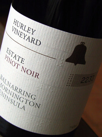 Hurley Vineyard 2015 Estate Pinot Noir