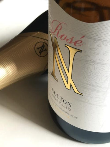 Nocton Vineyard NV Sparkling Pinot Noir Rose