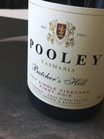 Pooley 2017 Single Vineyard Butchers Hill Pinot Noir