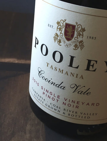 Pooley 2015 Single Vineyard Cooinda Vale Pinot Noir