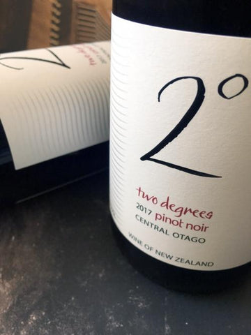 Two Degrees 2017 Pinot Noir