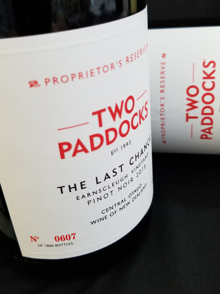 Two Paddocks 2016 Last Chance Pinot Noir