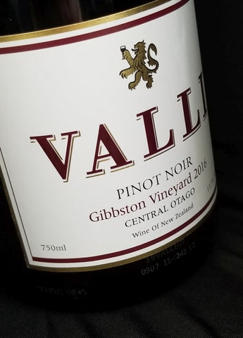 Valli 2016 Gibbston Pinot Noir