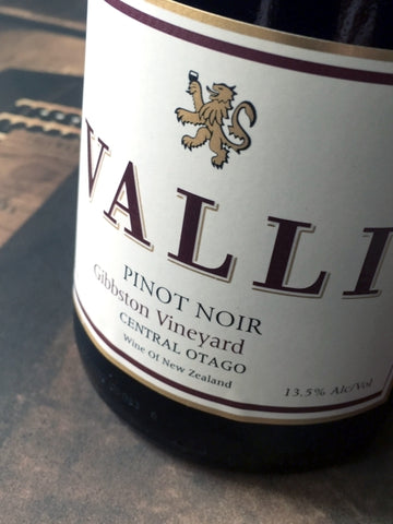 Valli 2015 Gibbston Pinot Noir