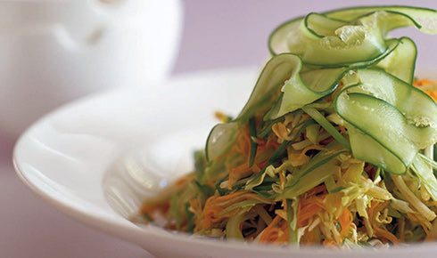 KYLIE KWONG'S CELERY, CARROT AND CABBAGE SALAD
