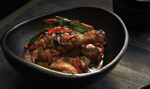 KYLIE KWONG'S BRAISED CHICKEN DRUMSTICKS WITH BLACK BEAN AND CHILLI