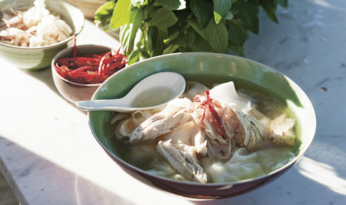 KYLIE KWONG'S VIETNAMESE-STYLE CHICKEN SOUP