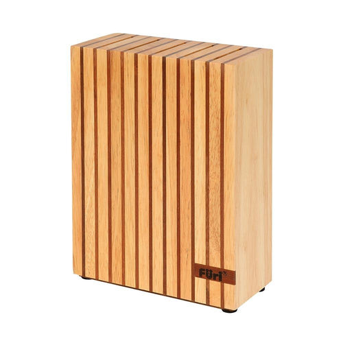 Furi Pro 5 Slot Wood Knife Block