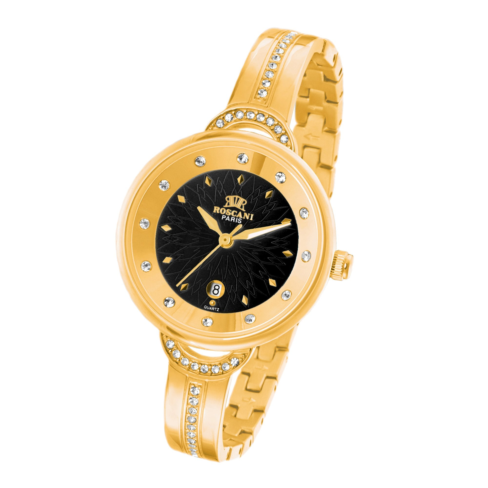 longines watches gold automatic elegant collection the image elegance