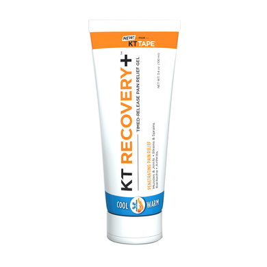 KT Recovery+™ Timed-Release Pain Relief Gel - Tube - 2H-STORE