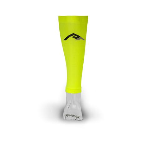 Pro Compression - Calf Sleeves, Neon Yellow - 2H-STORE