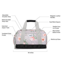 Vooray Burner Gym Duffel - Rose Gray - 2H-STORE