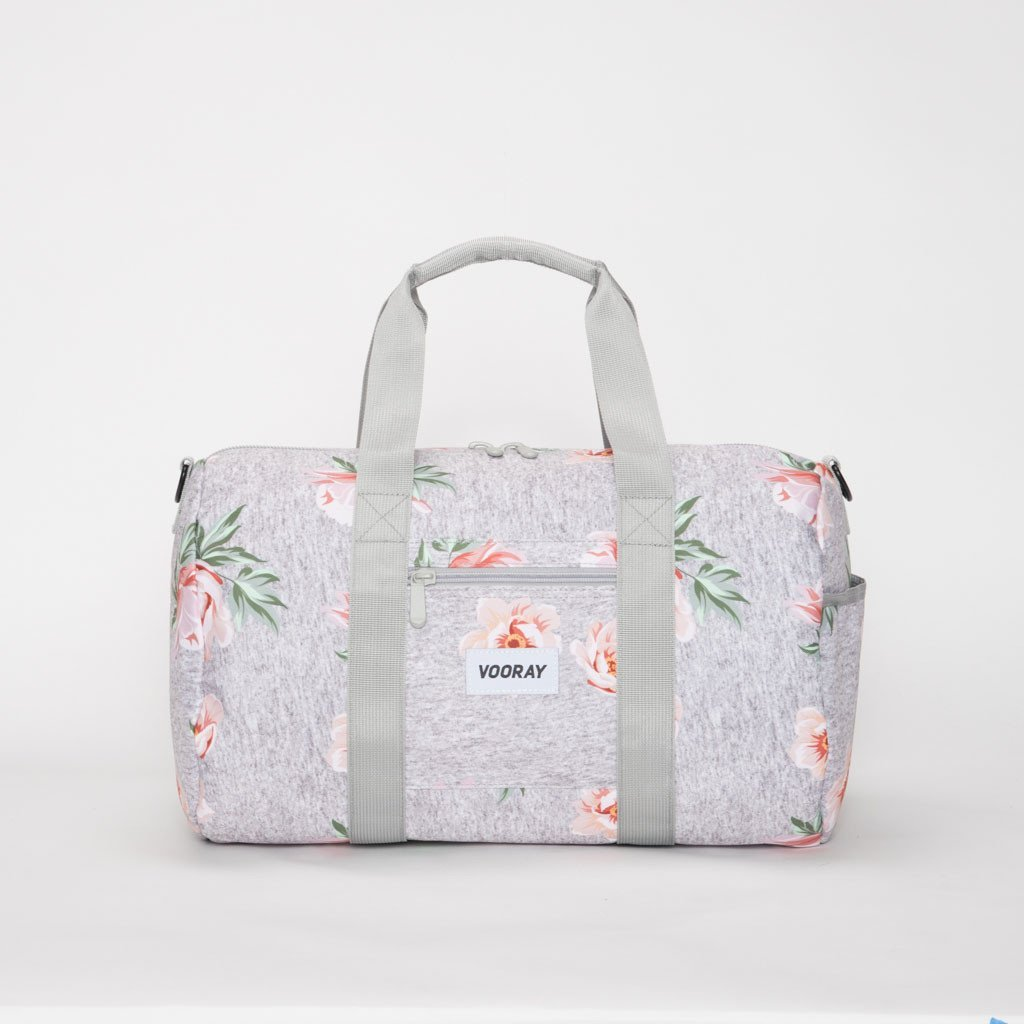 Vooray Roadie Gym Duffel - Rose Gray - 2H-STORE