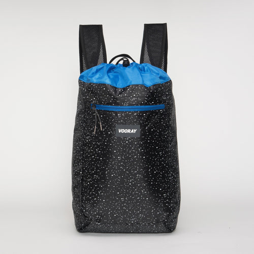 Vooray Stride Cinch Backpack - Black Speck - 2H-STORE