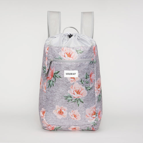 Vooray Stride Cinch Backpack - Rose Gray - 2H-STORE