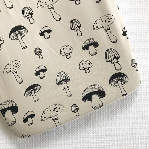 CHAMPIGNON bassinet sheet - Baby Jones Designs