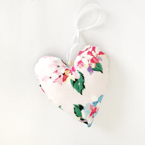 linen heart softie | JILLIAN - Baby Jones Designs