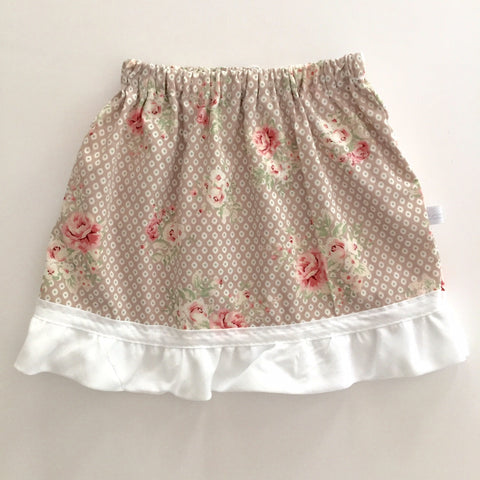 skirt | floral detail, ruffle - Baby Jones Designs