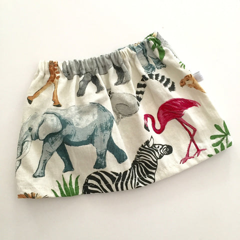 skirt | natural safari - Baby Jones Designs