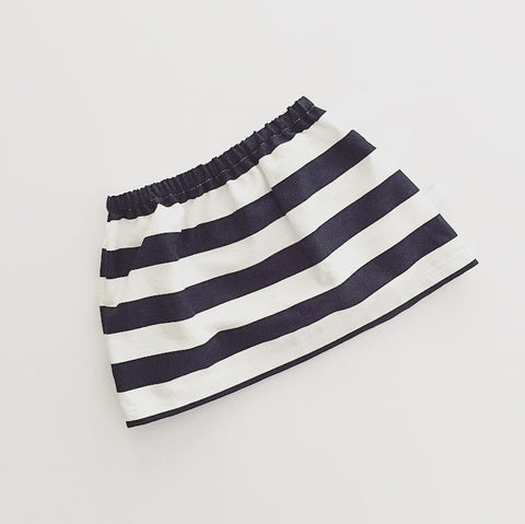 skirt | navy stripe - Baby Jones Designs