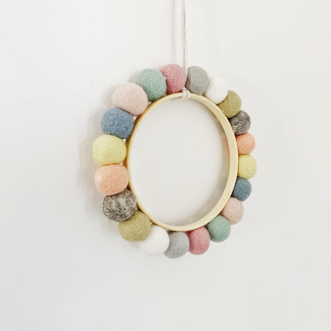 luna hoop | rainbow - Baby Jones Designs