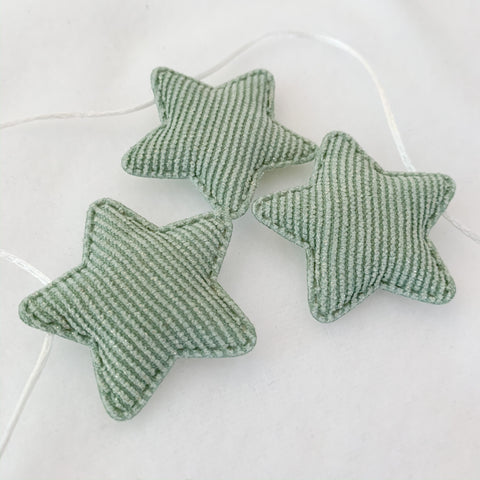 star bunting | sage - Baby Jones Designs