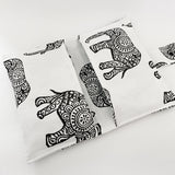 Tribal Elephant nappy wallet - Baby Jones Designs