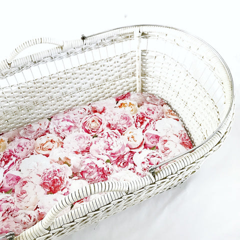 FLOSS bassinet sheet - Baby Jones Designs