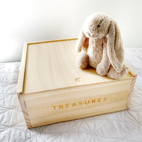 TREASURE BOX medium - Baby Jones Designs
