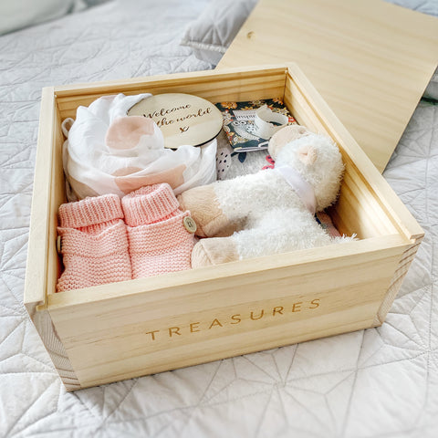 TREASURE BOX - Baby Jones Designs