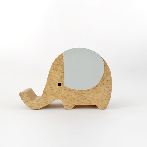Wooden Musical Elephant | GREY - Baby Jones Designs