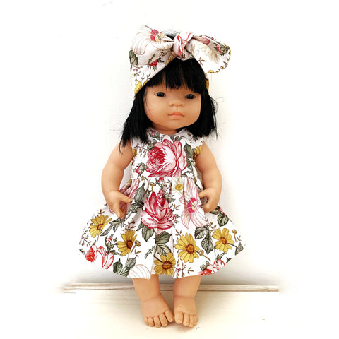 GEORGIE doll dress set - Baby Jones Designs